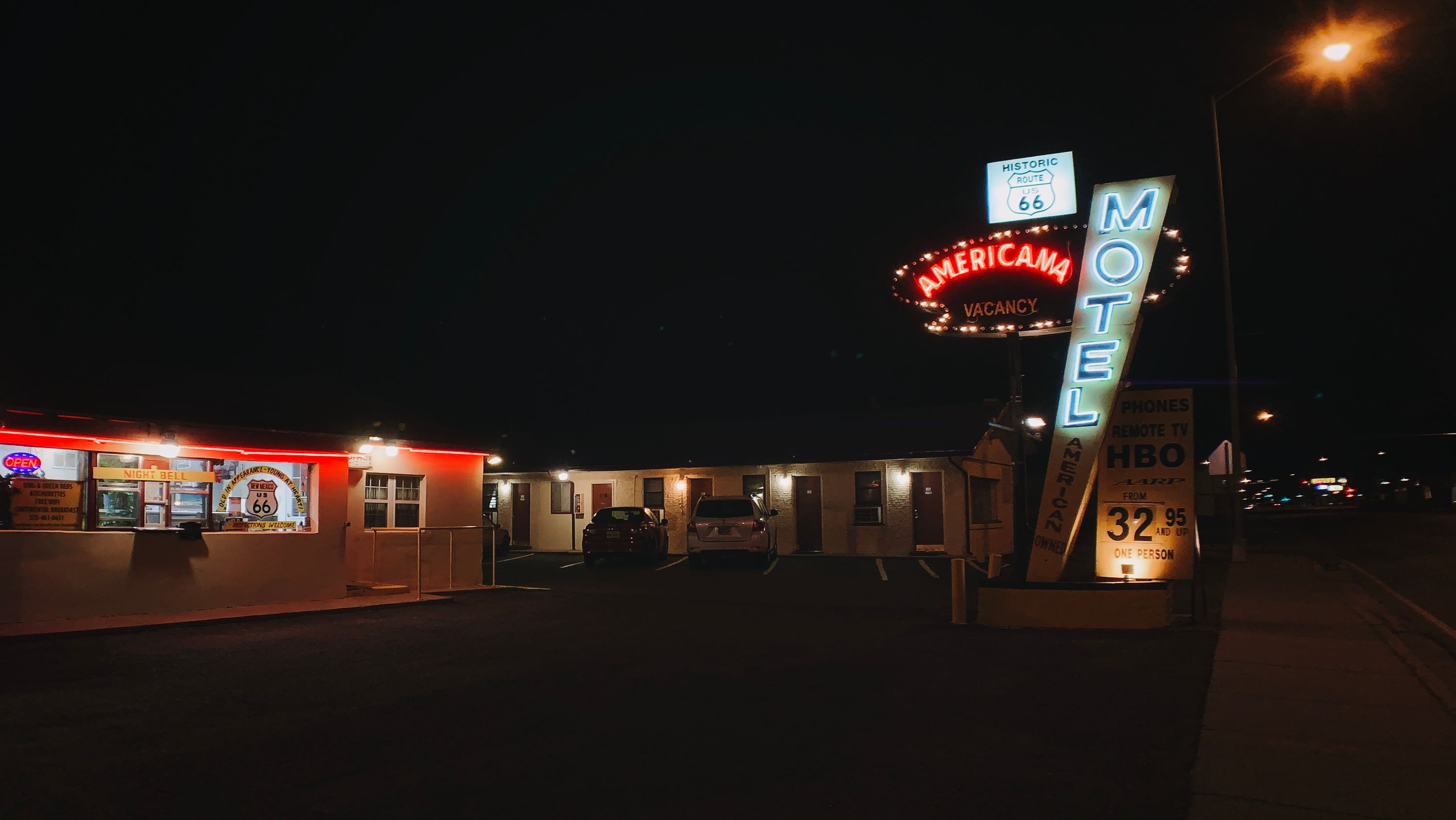 Americana Motel in Tucumcari, NM