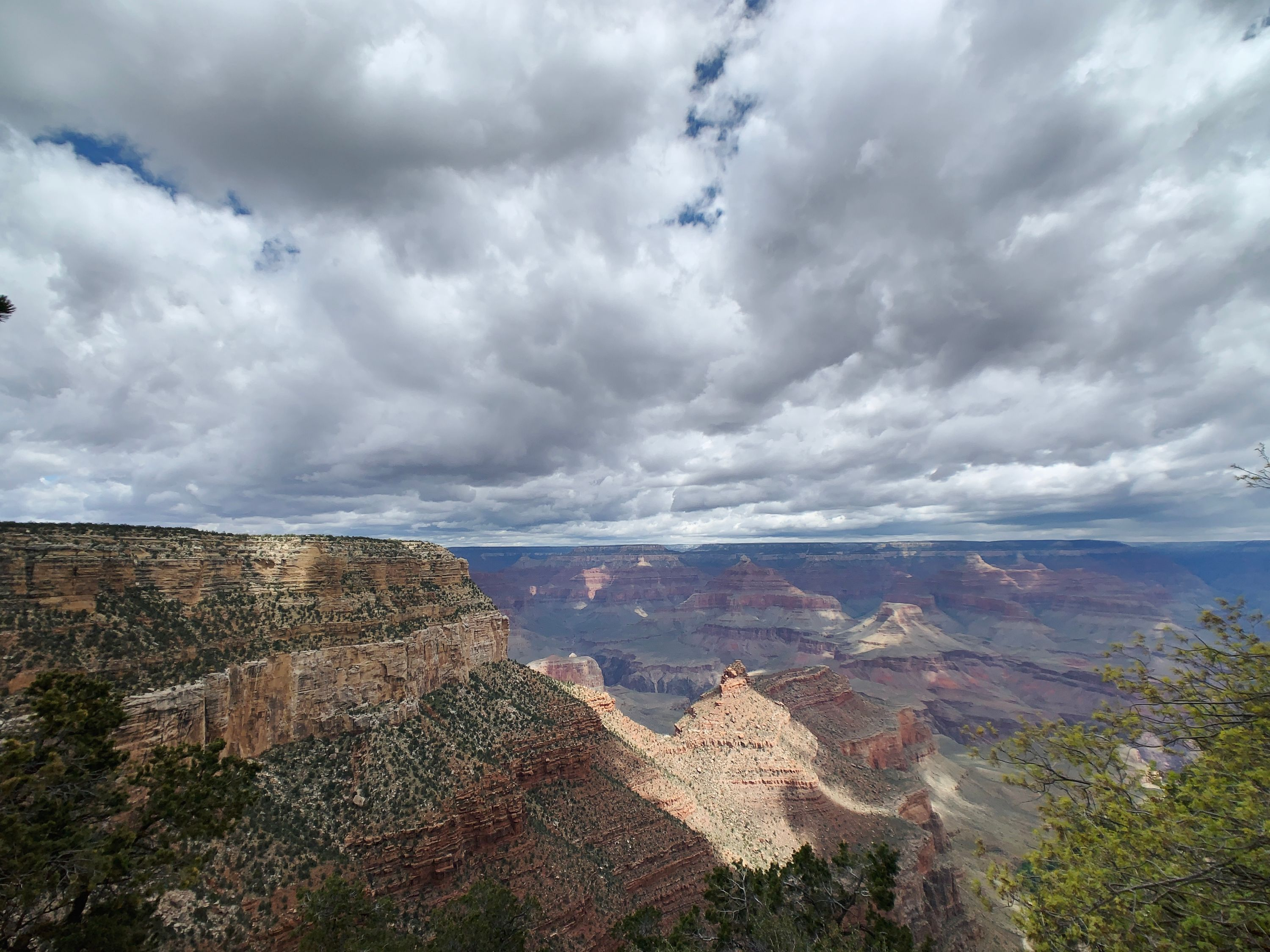 A View from the South Rim of the Grand Canyon