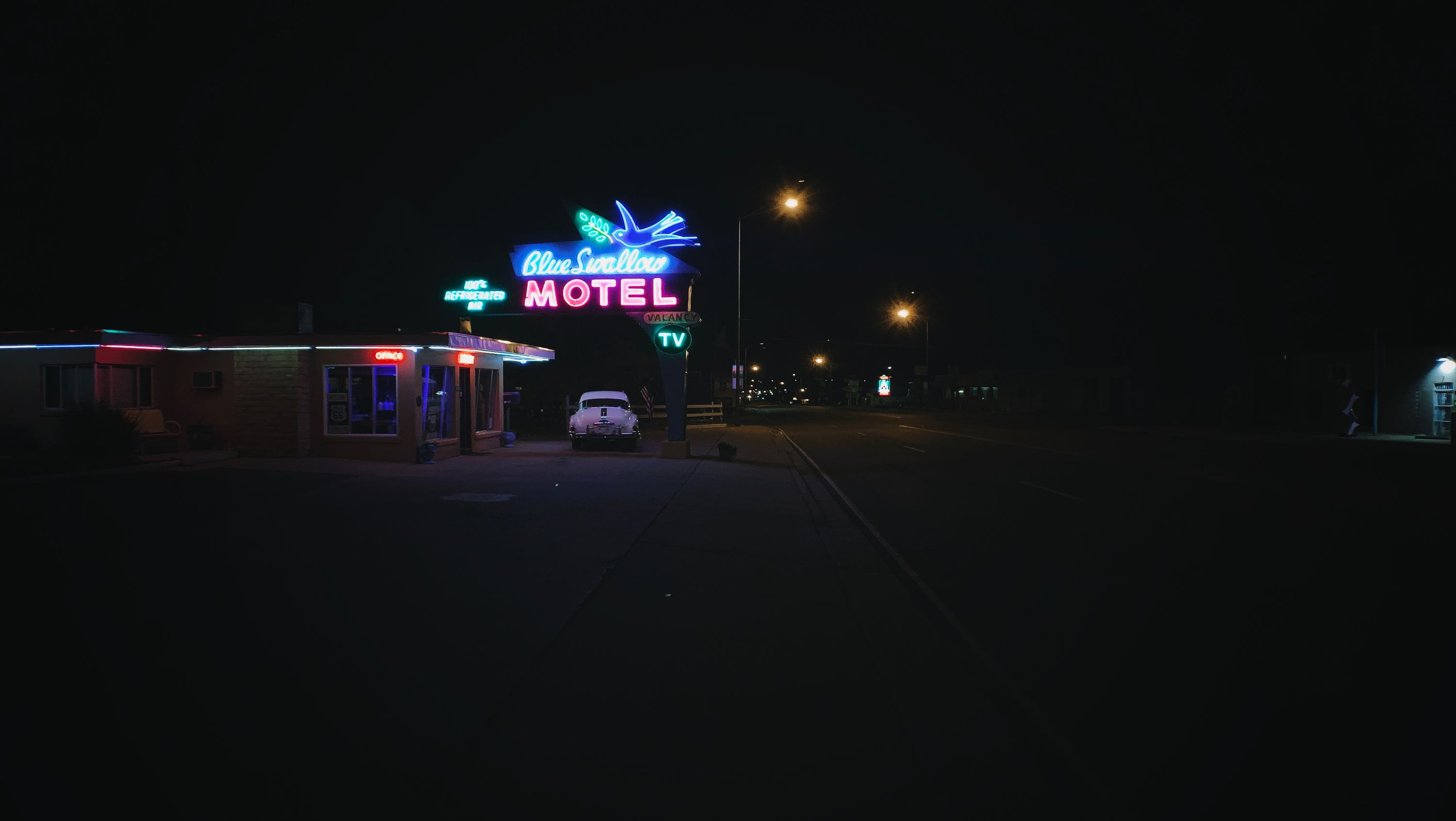 Blue Swallow Motel in Tucumcari, NM