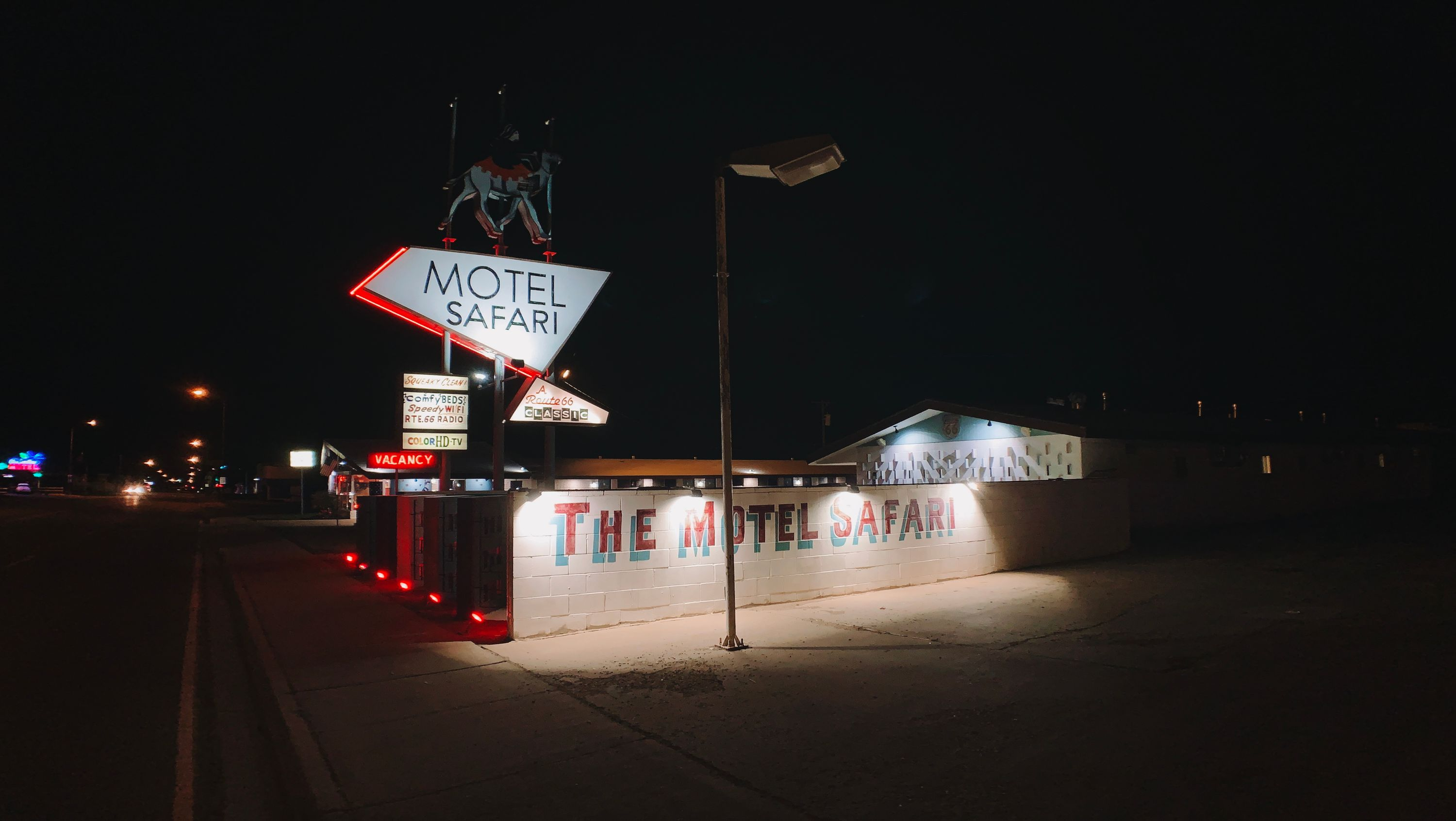 Motel Safari in Tucumcari, NM